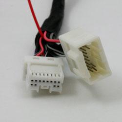 USB MP3 integration into Nissan Infiniti car stereo - NIS02 harness connector